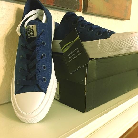 0479f3f5107b Blue Converse Chuck Taylor All Star II